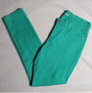 "Old Navy 'The Sweet Heart"" Teal Green Skinny Jeans"